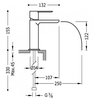 20011001BLD-loft-colors-tres-grifo-monomando-lavabo-cano-cascada-libre-blanco-cromo (1)
