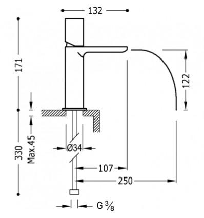 20011002AMD-loft-colors-tres-grifo-monomando-lavabo-cano-cascada-libre-ambar-cromo (1)