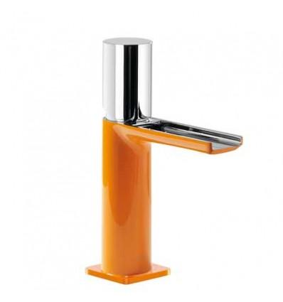20011002NAD-loft-colors-tres-grifo-monomando-lavabo-cano-cascada-libre-naranja-cromo