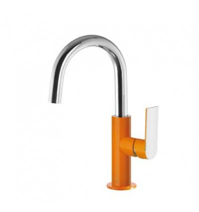 20020504NAD-loft-colors-tres-grifo-monomando-lavabo-cano-curvo-naranja-cromo