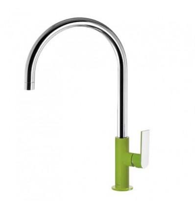 20020506VED-loft-colors-tres-grifo-monomando-lavabo-cano-curvo-verde-cromo