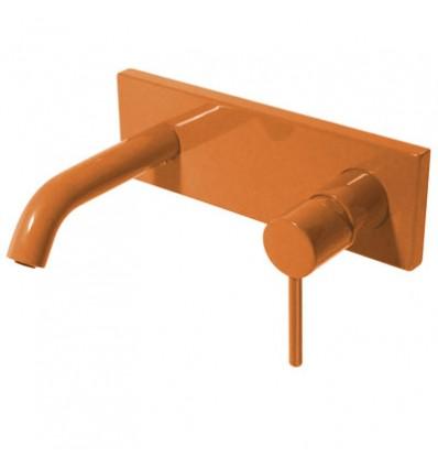 26220050TNA-study-colors-tres-grifo-monomando-mural-lavabo-naranja