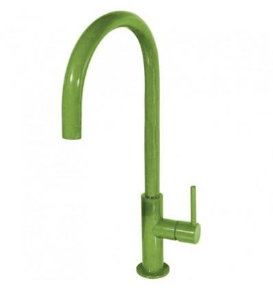 26290401TVED-study-colors-tres-grifo-monomando-lavabo-cano-giratorio-verde
