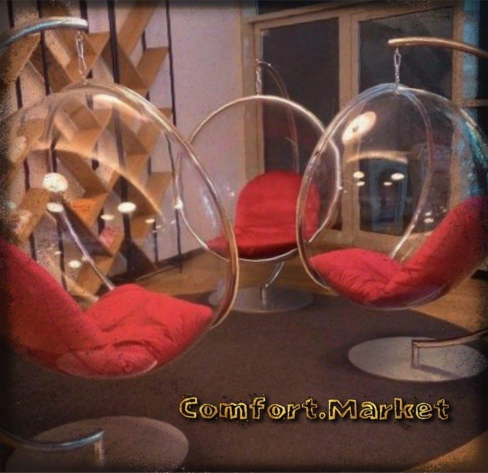 Заказать цвет на подвесное кресло качели Bubble chair - интернет магазин мебели Comfort Market