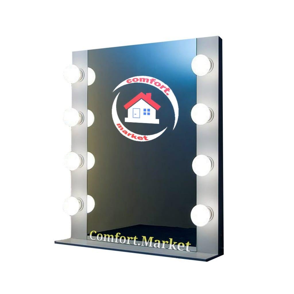 Заказать в Украине или купить в Киеве вертикальное зеркало визажиста на стол - магазин мебели Comfort Market.