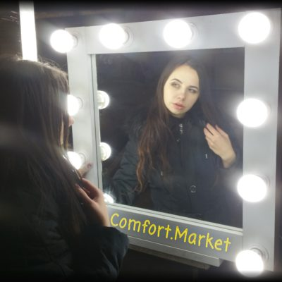 Зеркало для макияжа с подсветкой - мебель на заказ в Киеве