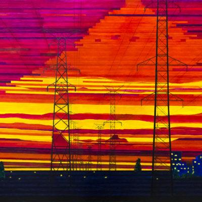 Картина Закат