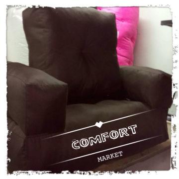 Раскладное кресло кровать Классик - водостойкий Оксфорд коричневый - фото Comfort Market