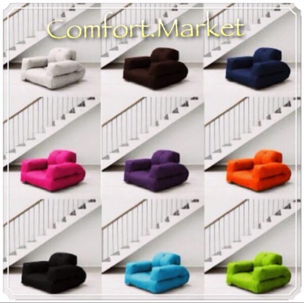 Ассортимент цветов - кресло-кровать Хиппо - раскладушка от производителя Comfort Market