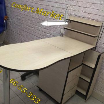 Купить в Киеве профессиональный складной маникюрный стол от производителя - Comfort.Market