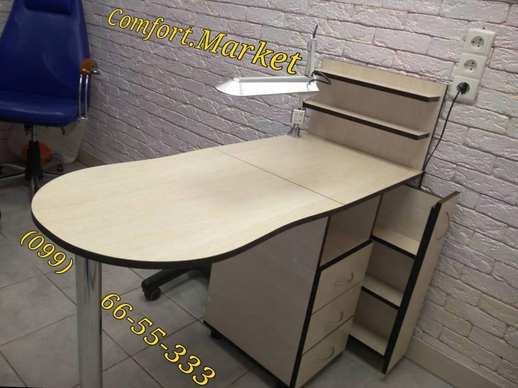 Маникюрный стол Максимум - мебель для салона от Comfort Market