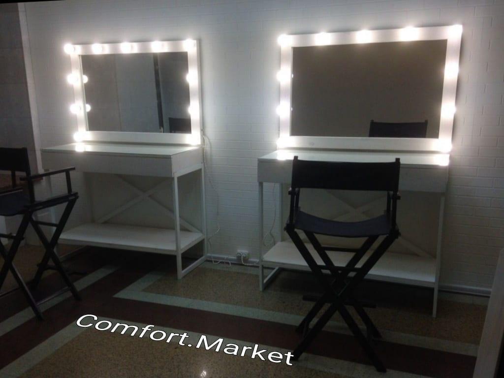Рабочие места мастера красоты - мебель для салона от производителя в Украине - Comfort Market