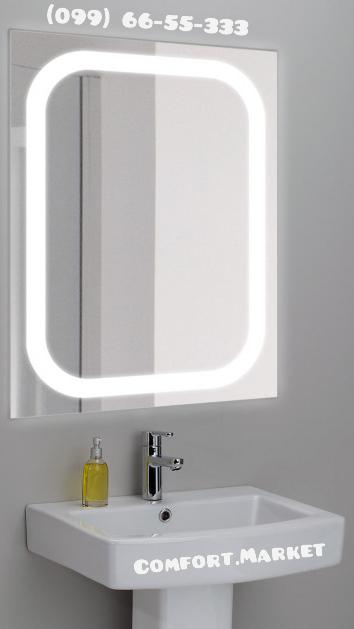 Купить зеркало с ЛЕД подсветкой для ванной
