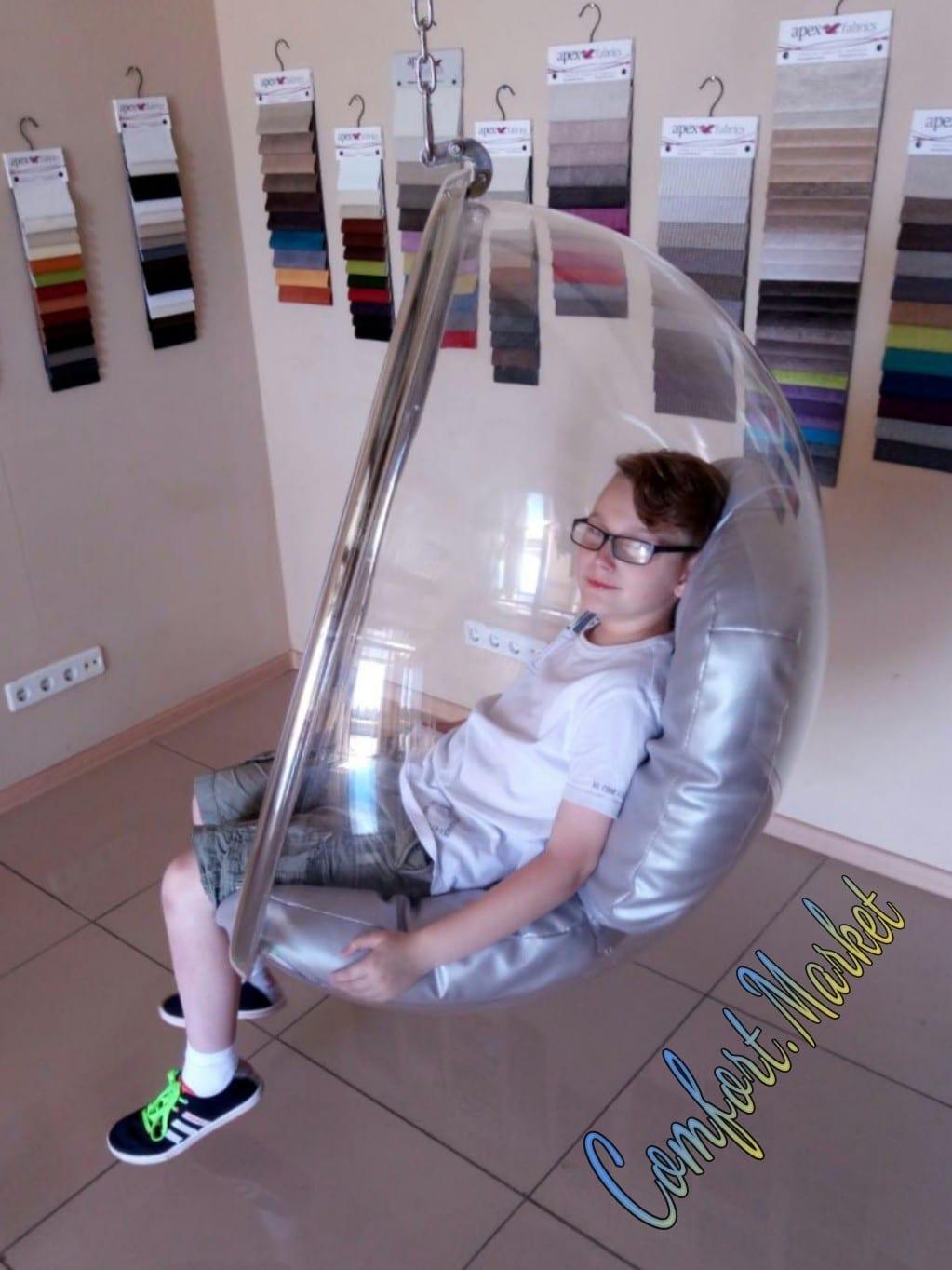 Эксклюзивное подвесное кресло бабл - купить в Украине, Киеве
