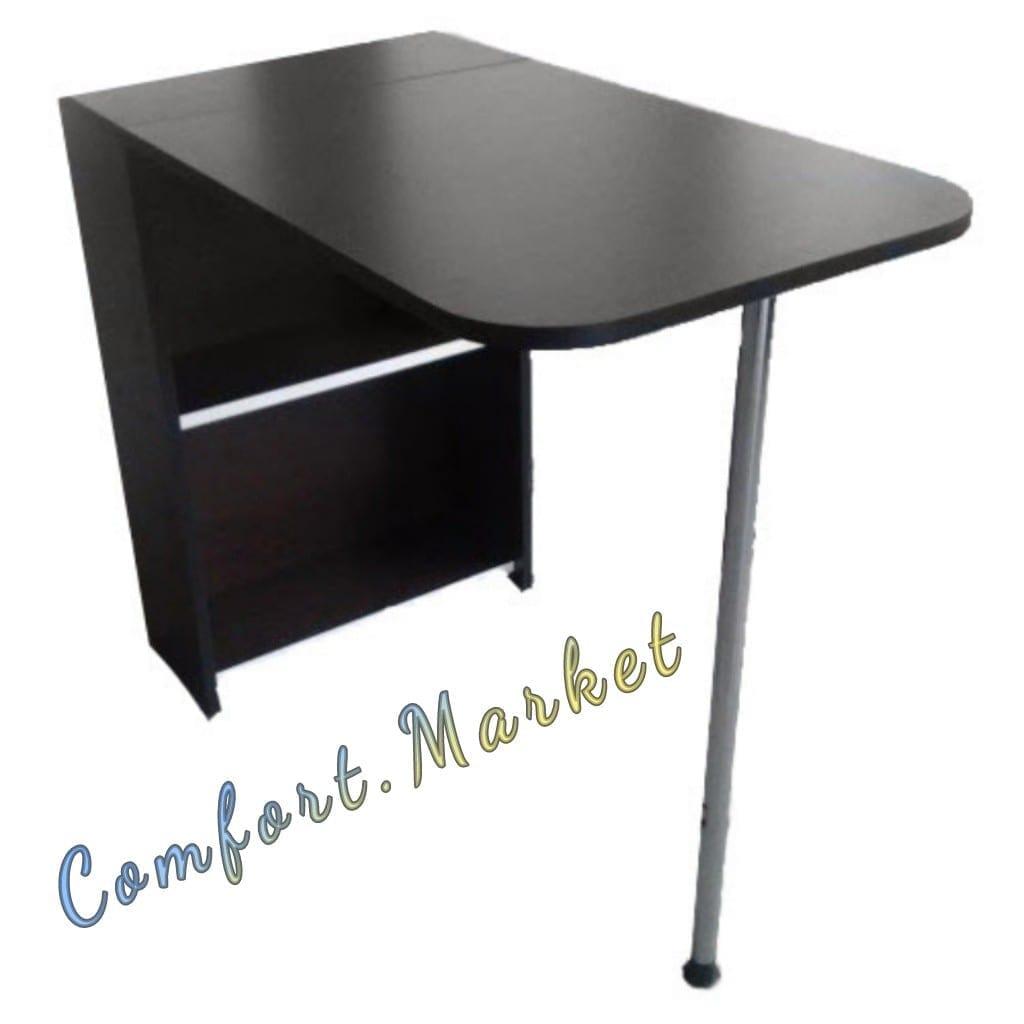 Складывающийся маникюрный столик Компактный, цвет венге
