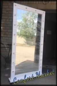 Зеркало с подсветкой высокое на заказ в Украине - производитель Comfort Market