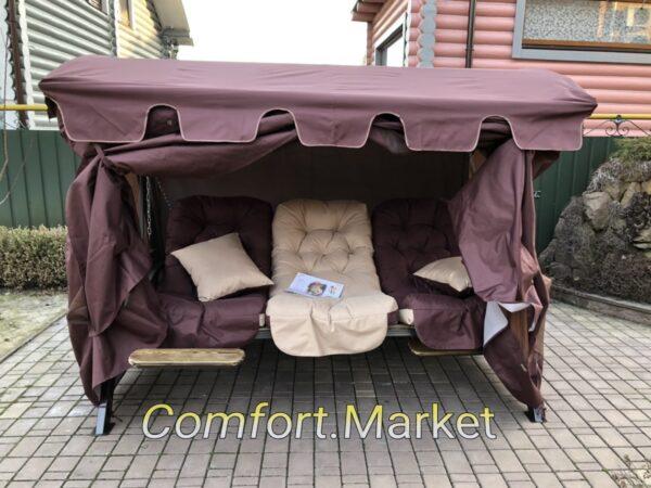 Качели для улицы, дома, сада Техас Люкс от Comfort Market - элитная мебель на заказ в Украине