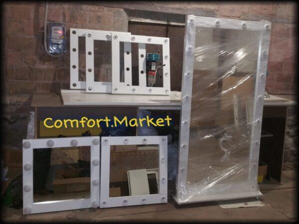Зеркала на производстве Comfort Market, Украина, Киев