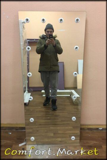 Зеркало во весь рост человека 80*180 см без рамки - заказать недорого в магазине Comfort Market в Киеве.