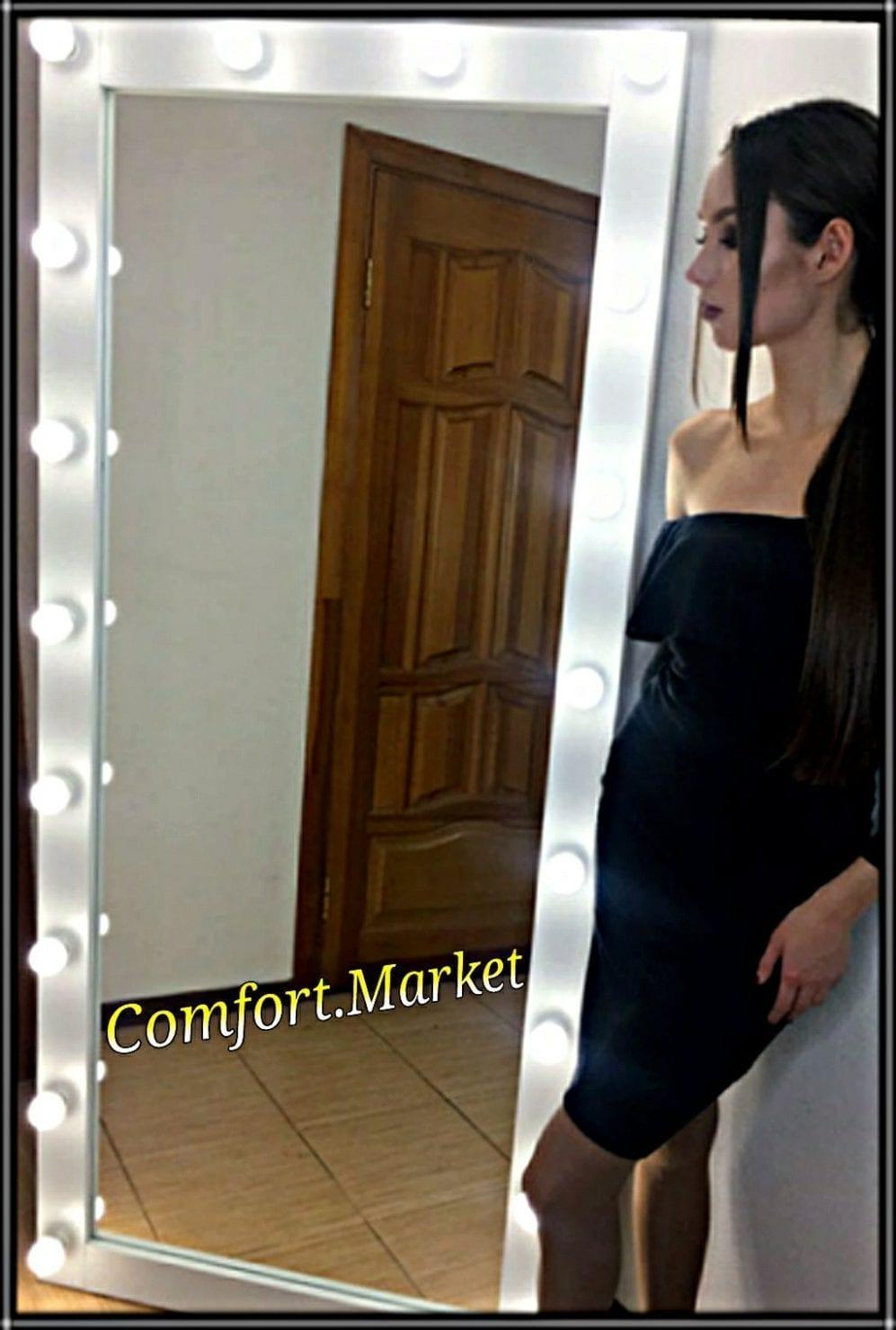 Зеркало на пол или на стену в полный рост человека - мебель Comfort Market
