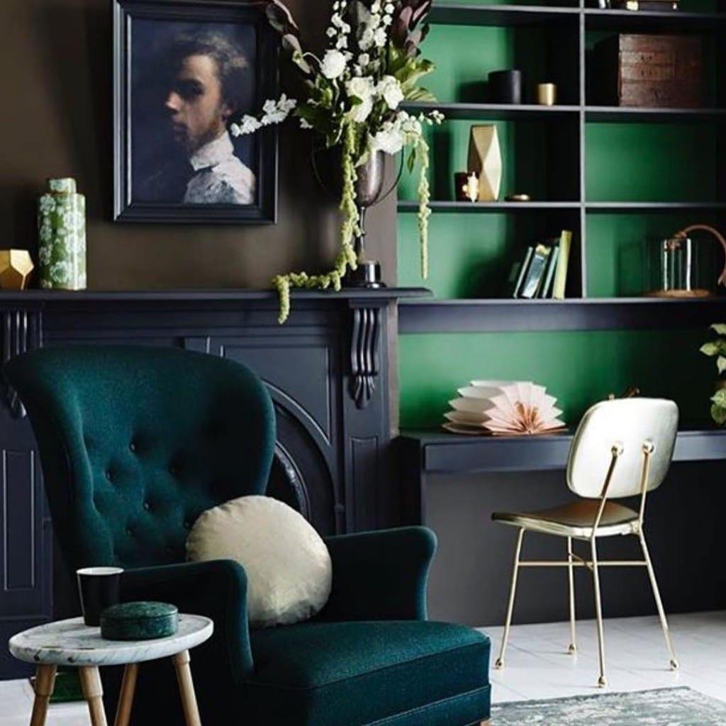 Инстаграмо-вдохновленные: Зеленая мебель. Часть 1
